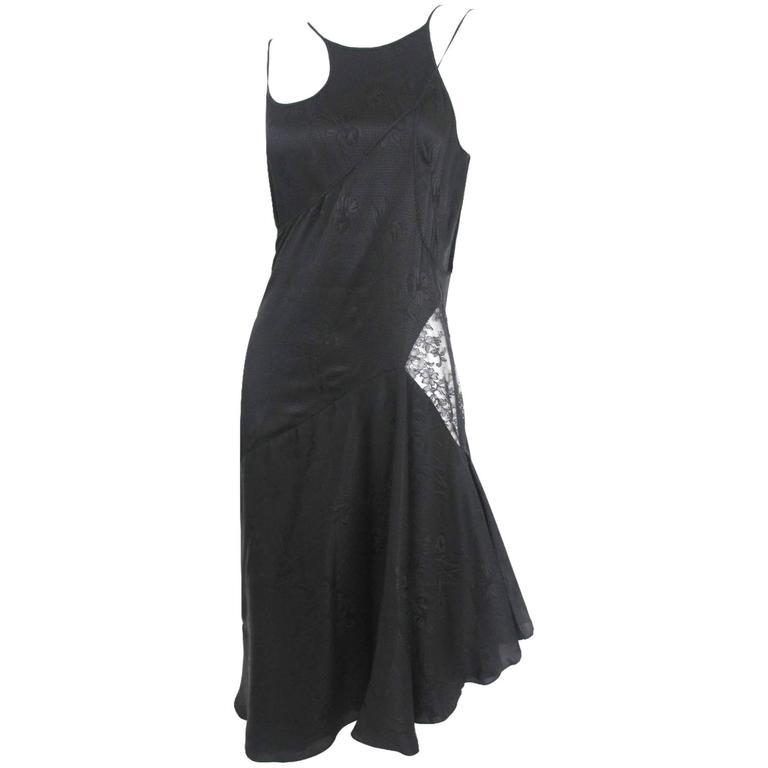 Alexander McQueen 2006 Collection Silk Dress