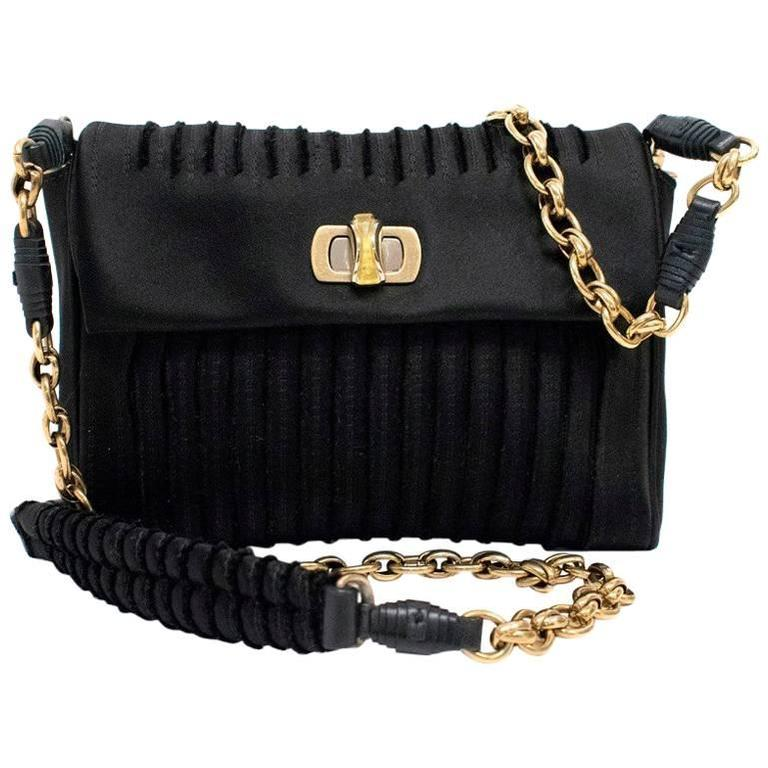 db270790d6c3 Nina Ricci Black Small Cross Body Bag For Sale at 1stdibs