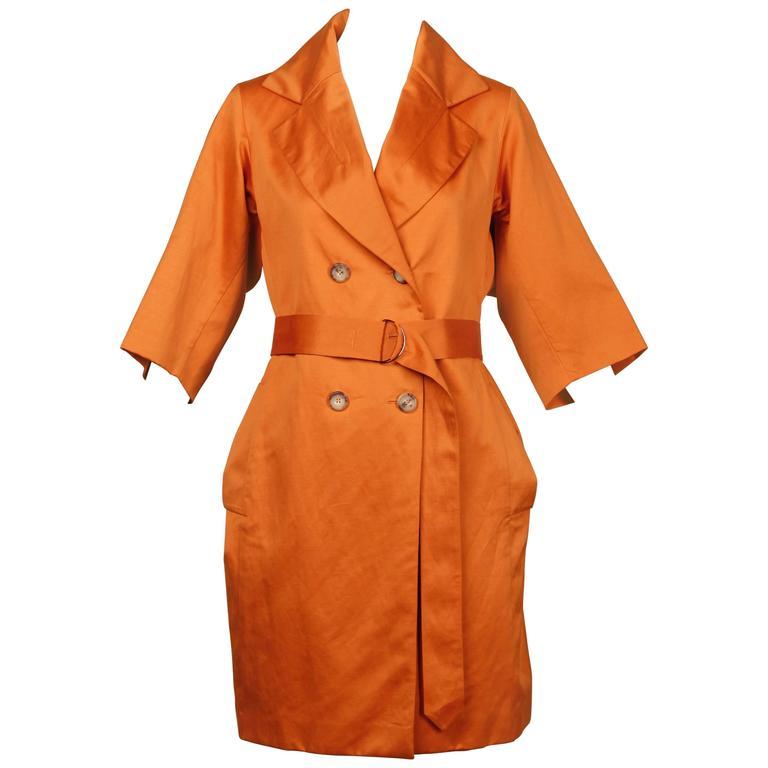 Yves Saint Laurent Trench Coat
