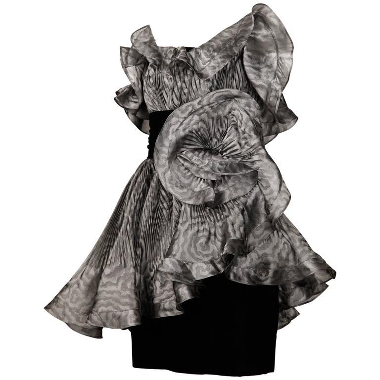 Bernard Perris Vintage Dress For Sale