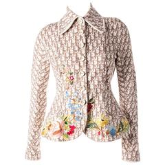 Christian Dior Early 00's Iconic Monogram Print Jacket