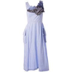 Comme Des Garcons Gingham AD 1999 Dress