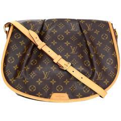 Louis Vuitton Monogram Menilmontant MM Messenger Crossbody Bag