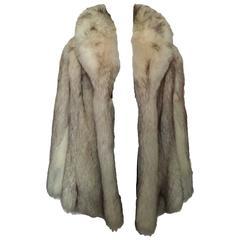 Chris Courtenay Williams Fox Fur Vintage Jacket Coat