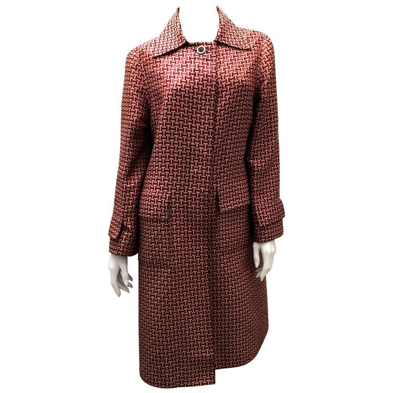Hermes Vintage Coat - 1970's - Extremely Rare - Ladies