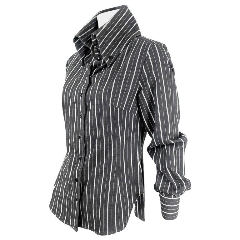 Alexander Mcqueen 1996 Collection High Collar Jacket/Blouse
