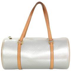 Louis Vuitton Powder Blue Bedford Vernis Papillion Bag