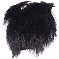 Gucci 2010 RTW Ostrich Feather Top