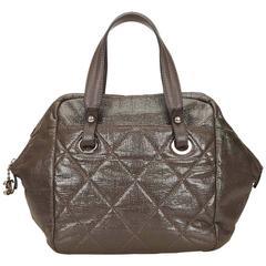 Chanel Gray Paris Biarritz Handbag