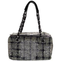 Chanel Paris/ New York Tweed Box Bag