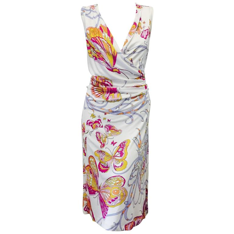 Perfect Emilio Pucci Butterfly Print Dress