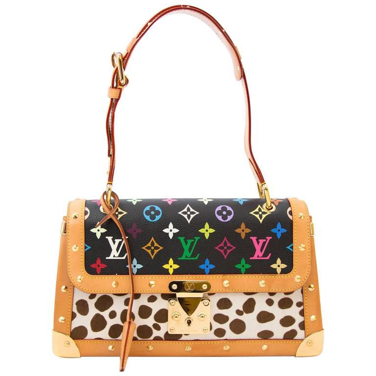 Louis Vuitton Dalmatian Sac Rabat Pony Hair Monogram Bag 1