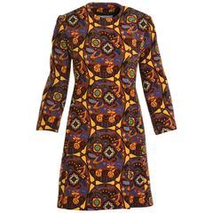 PRADA Arabesque Printed Coat