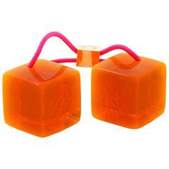 Louis Vuitton Orange Hair Cubes