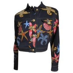 1990's Gianni Versace Starfish Jacket