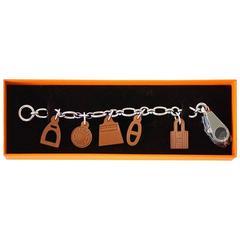 HERMES Olga Amulette Breloque Limited Edition Bag Charm Barenia