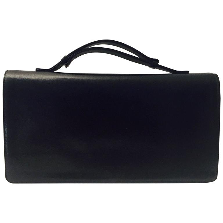 Bottega Veneta Top Handle Leather Handbag