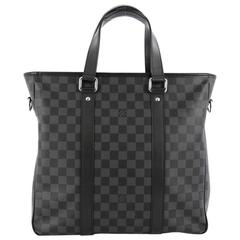 Louis Vuitton Tadao Handbag Damier Graphite PM