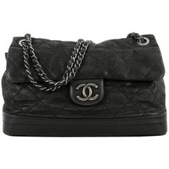 Chanel VIP Flap Bag Quilted Iridescent Calfskin