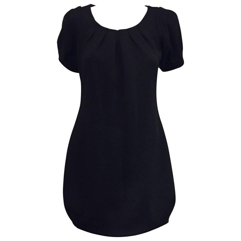 Flirty Anne Fontaine Little Black Day Dress