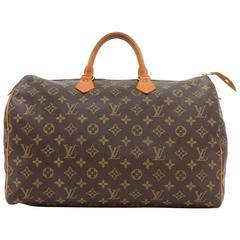 Vintage Louis Vuitton Speedy 40 Monogram Canvas Hand Bag
