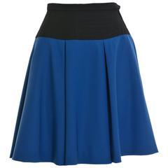 1980s YVES SAINT LAURENT Rive Gauche Wool Skirt