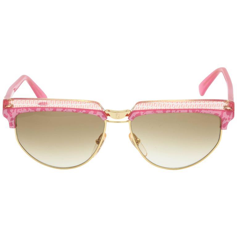 Vintage Pink Fendi Sunglasses