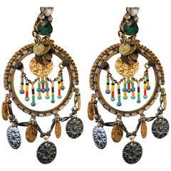 Women Of The World Statement Hoop Earrings