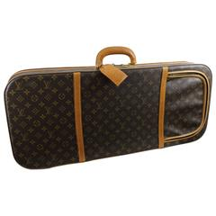 rare Vintage Louis Vuitton Semid Rigid Travel Suitase Bag for Badmington Rackets