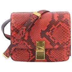 Celine Box Bag Python Small