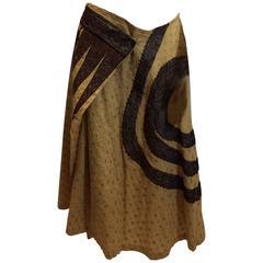 Dries Van Noten Wrap Around Skirt