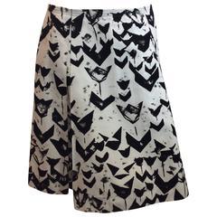 Jil Sander Black And White Skirt