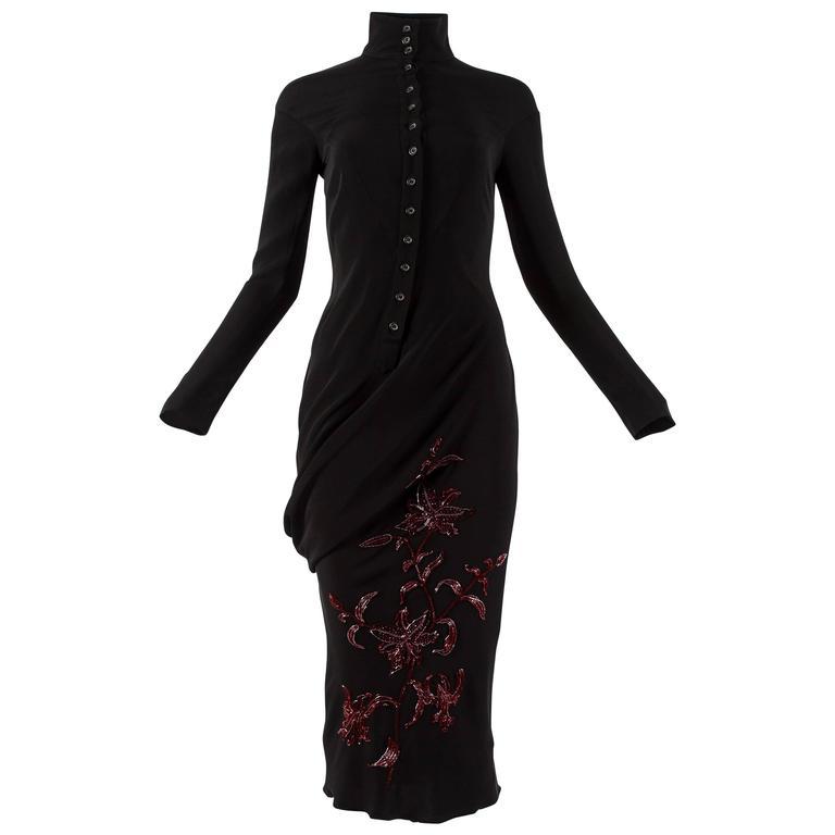 Alexander McQueen Autumn-Winter 1998 'Joan' beaded evening dress 1