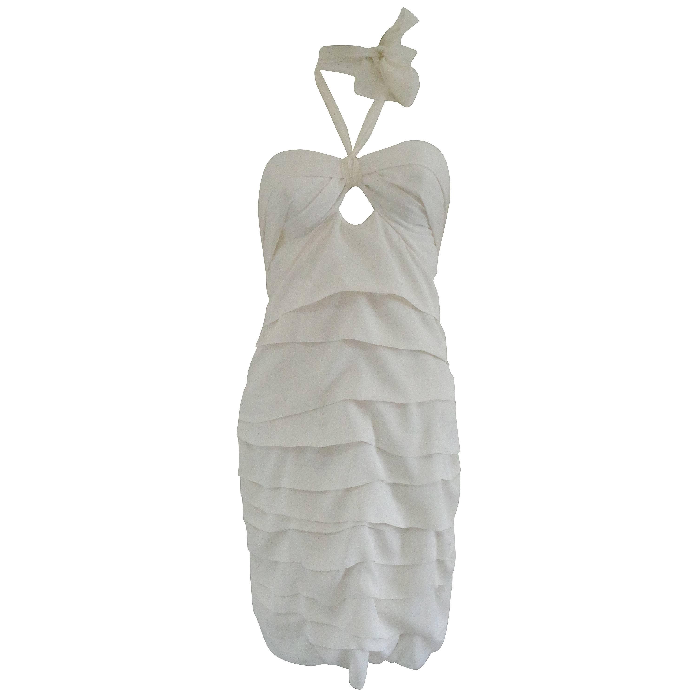Marvel by La Perla white Silk Dress