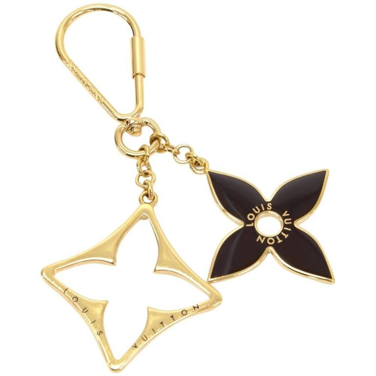 Louis Vuitton Porte Puzzle Gold Tone Key Holder / Bag Charm 1