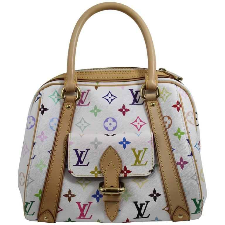 Louis Vuitton Priscilla Multicolore Canvas Bag. 1