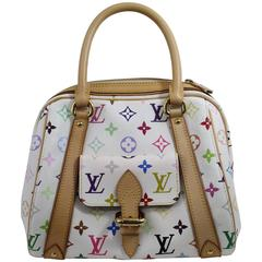 Louis Vuitton Priscilla Multicolore Canvas Bag.