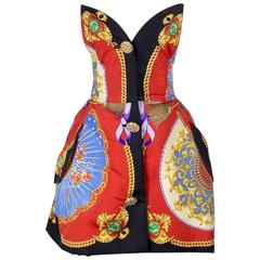 Versace Barocco Dress