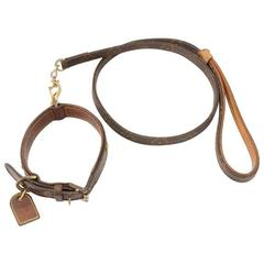 Louis Vuitton Laisse Baxter MM Monogram Canvas Dog Leash