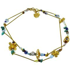 Christian Lacroix Vintage Jewelled Necklace