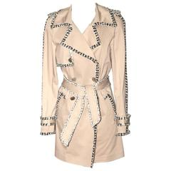 Chanel Beige Trench Coat