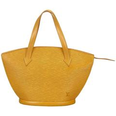 Louis Vuitton Yellow Epi Saint Jacques PM
