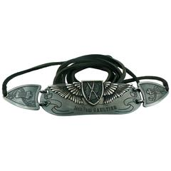 "Jean Paul Gaultier Limited Edition Belt ""Anniversaire 1976-2001"""