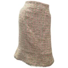 Chanel Skirt - Pink Boucle - Size 46