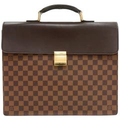 Louis Vuitton Altona PM Ebene Damier Briefcase Bag