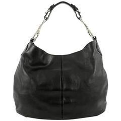 Gucci Soft Icon Horsebit Hobo Leather Large