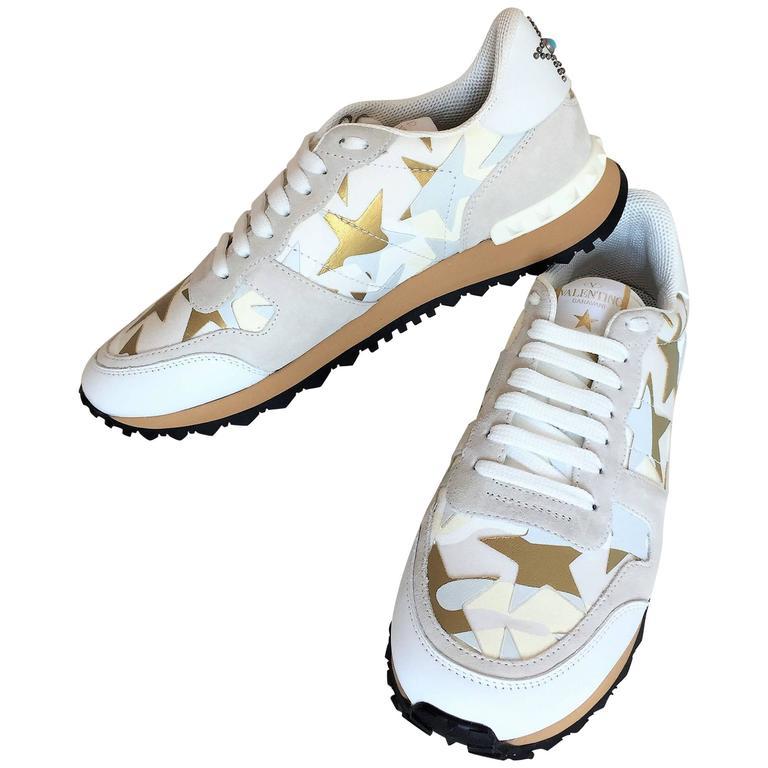 New Valentino Garavani Sneaker Starstudded Shoes 1