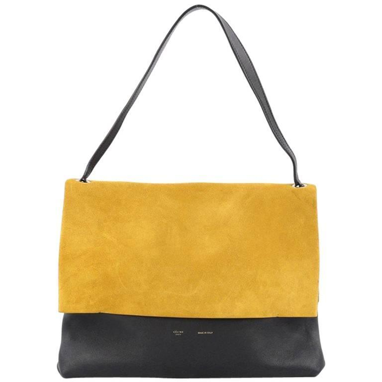 Celine All Soft Tote Suede 1