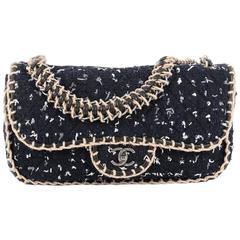 Chanel St. Tropez Flap Bag Tweed Large