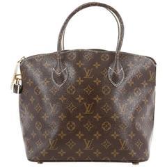 Louis Vuitton Lockit Handbag Monogram Fetish Canvas